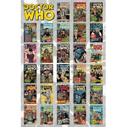 Doctor Who Comics Compilation Dr Who Maxi Poster 61x91.5cm