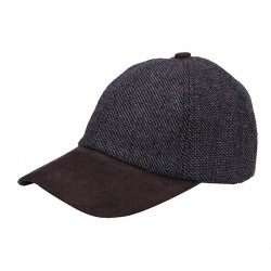Heritage Traditions Grey Twill Tweed Baseball Cap