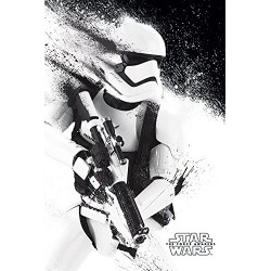 "Star Wars ""The Force Awakens - Stormtrooper Paint"" Maxi Poster, Multi-Colour"