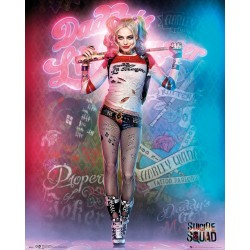 DC Comics Suicide Squad, Harley Quinn Stand, Mini Poster, Various