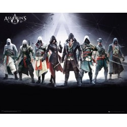 """GB eye """"Assassins Creed Characters"""" Mini Poster, Various, 40 x 50 cm"""