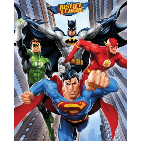 "DC Comics ""Rise"" Mini Posters, Multi-Colour, 40 x 50 cm"