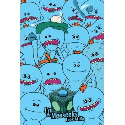 Rick and Morty (Mr. Meeseeks) Maxi Poster