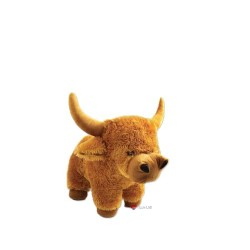 LARGE COW/BULL soft toy 17 INCHES LONG
