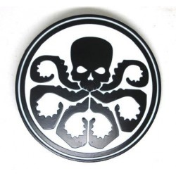 Hydra Avengers Marvel Metal Belt Buckle White