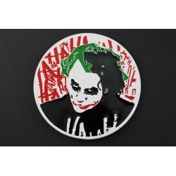 THE JOKER BELT BUCKLE DARK KNIGHT DC COMICS MOVIE BATMAN VS SUPERMAN