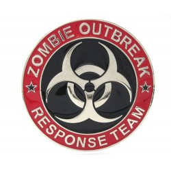Belt Buckle Zombie Outbreak Response Team