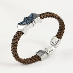 Legend of Zelda Bracelet Leather Chain