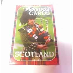 Scotland Piper Playing Cards