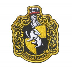 """HARRY POTTER """"hufflepuff"""" Extra Large Embroidered Patch - Full Size, NEW"""