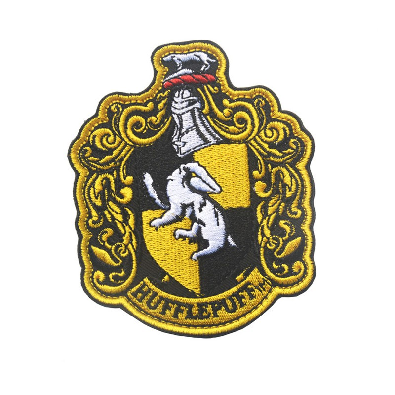 Harry Potter Hufflepuff Extra Large Embroidered Robe Patch