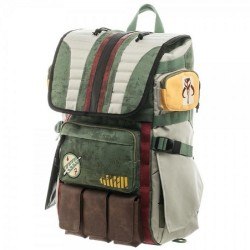Star Wars Boba Fett Laptop Backpack good quality