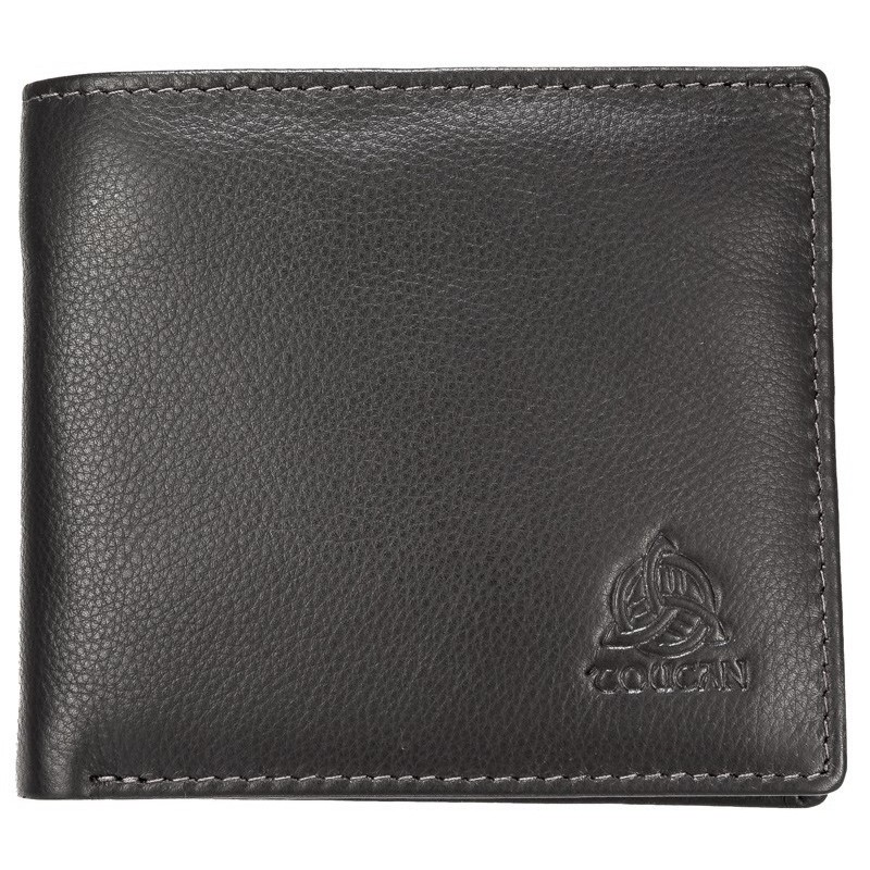 Gents Soft Leather Billfold Wallet Boxed