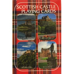 Scotland Castles Playing Cards