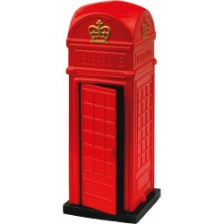 RED TELEPHONE BOX DIE-CAST NOVELTY PENCIL SHARPENER