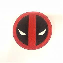 Deadpool Iron on sew on Cloth Patch 6cm