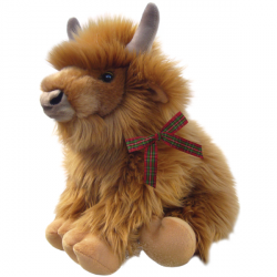 "Heather the Highland Cow 16"" soft toy"
