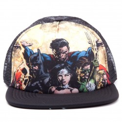 Justice League - Snap Back, Black