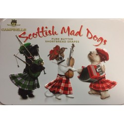 SCOTTISH MAD DOGS CAMPBELLS SHORTBREAD IN TIN (150G)