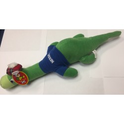 Large Flat Nessie soft toy with Scotland T Shirt