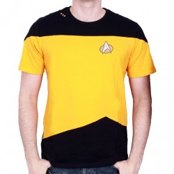 Tshirt homme Star Trek - Uniform Kirk Yellow - Legend Icon
