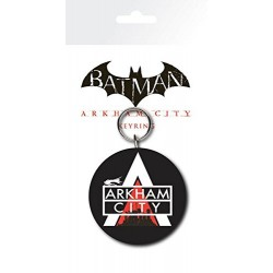 "GB eye ""Batman Arkham City"" Logo Key Ring, Multi-Colour"