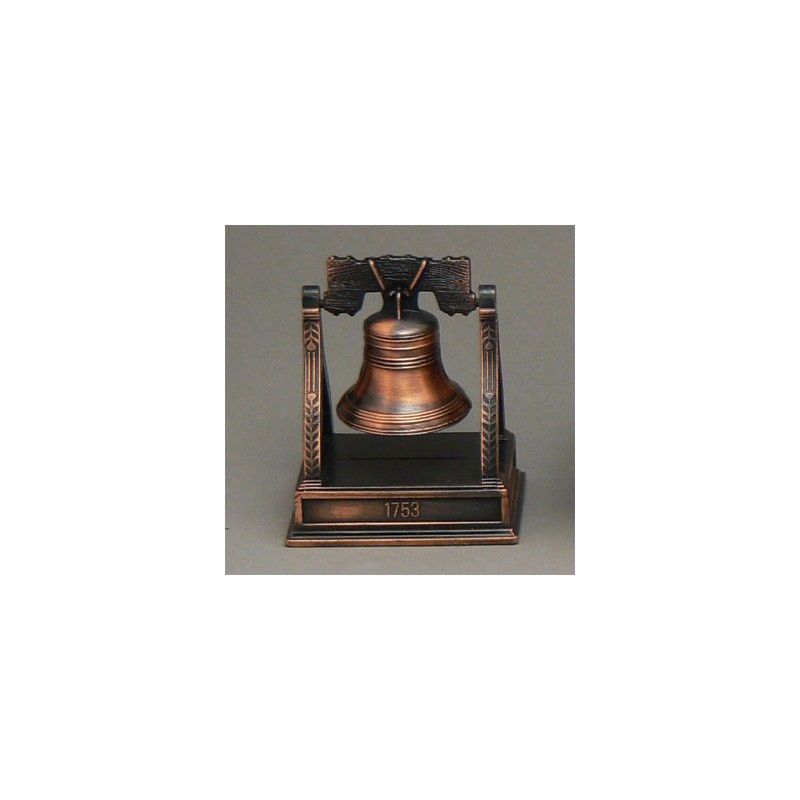 BELL ON STAND DIE-CAST ANTIQUE STYLE NOVELTY PENCIL SHARPENER