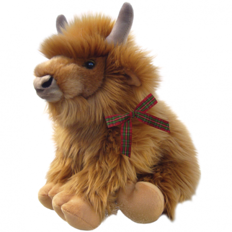 Finlay Highland Calf Soft Toy 8""
