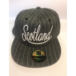 Robin Ruth Scotland Pinstripe Design Cotton Cap