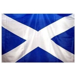 Scottish Saltire Outdoor or Wall Hanging Flag