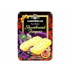 Campbells All Butter Shortbread Fingers - Traditional Shortbread in Gift Tin, Product of Scotland