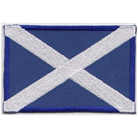 Scottish Saltire Patch 7.5 x 5cm