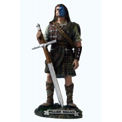 Large Handcrafted 'William Wallace' Scottish Figurine Sculpture