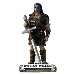 Small Handcrafted 'William Wallace' Scottish Figurine Sculpture