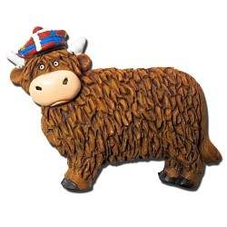 Thistle Products Ltd Highland Cow Magnet P15C
