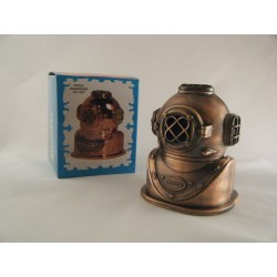 DIVING HELMET DIE-CAST ANTIQUE STYLE NOVELTY PENCIL SHARPENER