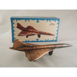 CONCORDE DIE-CAST ANTIQUE STYLE NOVELTY PENCIL SHARPENER