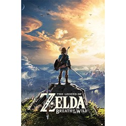 Pyramid International Sunset the Legend of Zelda: Breath of the Wild Maxi Poster,