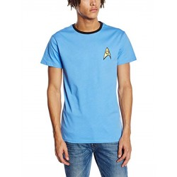 Star Trek Men's Science Blue T-Shirt (XXL)