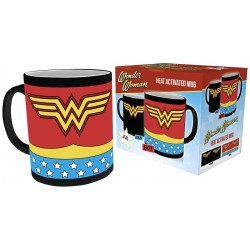 DC Comics Comics, Wonder Woman Costume, Heat Changing Mug, Ceramic, Various, 15 x 10 x 9 Cm
