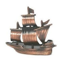 Galleon Die Cast Antique Style Novelty Pencil Sharpener