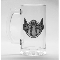 GB eye Assassins Creed Stencil Drinking Bottle, Aluminium, Various, 7.2 x 7.2 x 21.7 cm