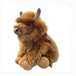 Harry the Highland Cow soft toy 12""
