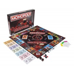 Hasbro Gaming E2033102 Marvel Deadpool Edition Monopoly Game