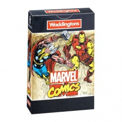 Waddingtons Marvel Retro Comics Playing Cards Game