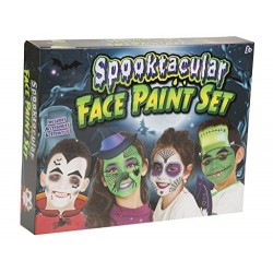 SPOOKTACULAR HALLOWEEN FACE PAINT SET
