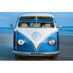GB Eye Ltd Volkswagen Brendan Ray Blue Kombi Maxi PosterMaxi Poster, Multi-Colour, 61x91.5cm