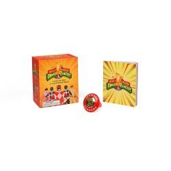 Mighty Morphin Power Rangers Light-Up Ring and Illustrated Book (Miniature Editions)