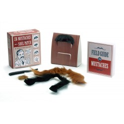 Three Mustaches and a Soul Patch: No Testosterone Required! (Miniature Editions)