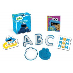 Sesame Street: Cookie Monster Cookie Cutter Kit (Running Press Mini Editions)